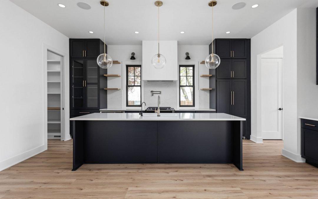 A Custom Home with Modern Flair